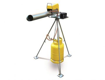 propane bird cannon