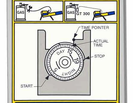 propane cannon timer