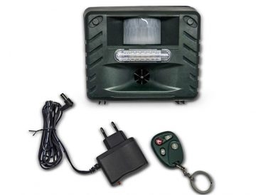 garden pest control with remote