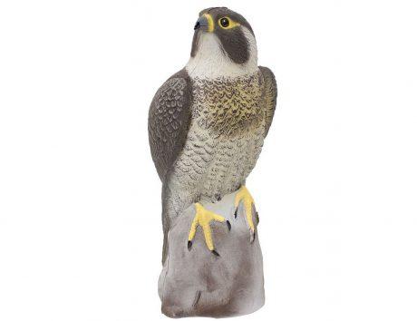 Falcon bird scarer figure