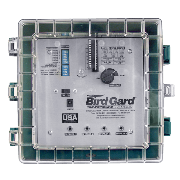 Bird repellent Bird gard super pro