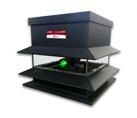 Automatic laser bird control