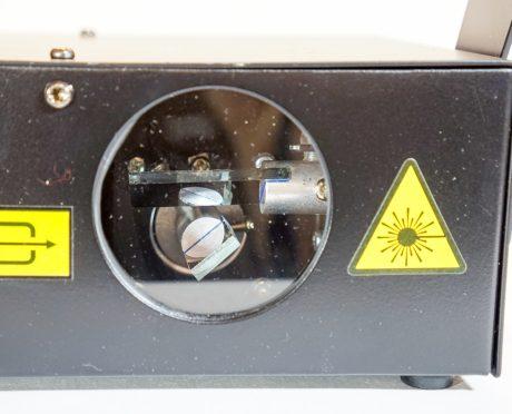 Laser bird control