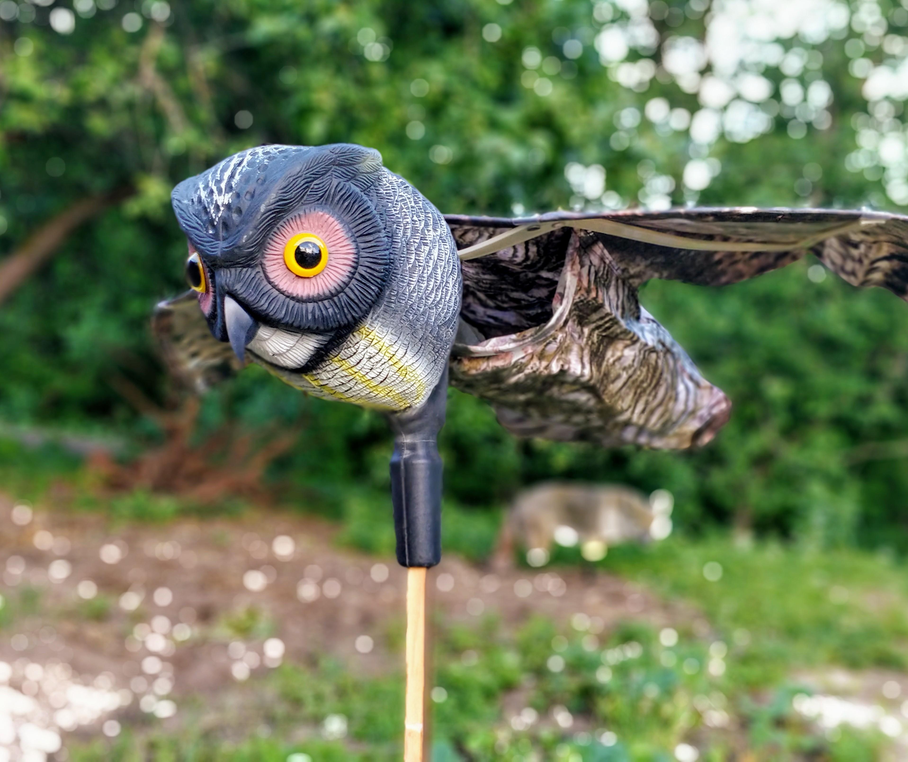 owl  figure bird scarer