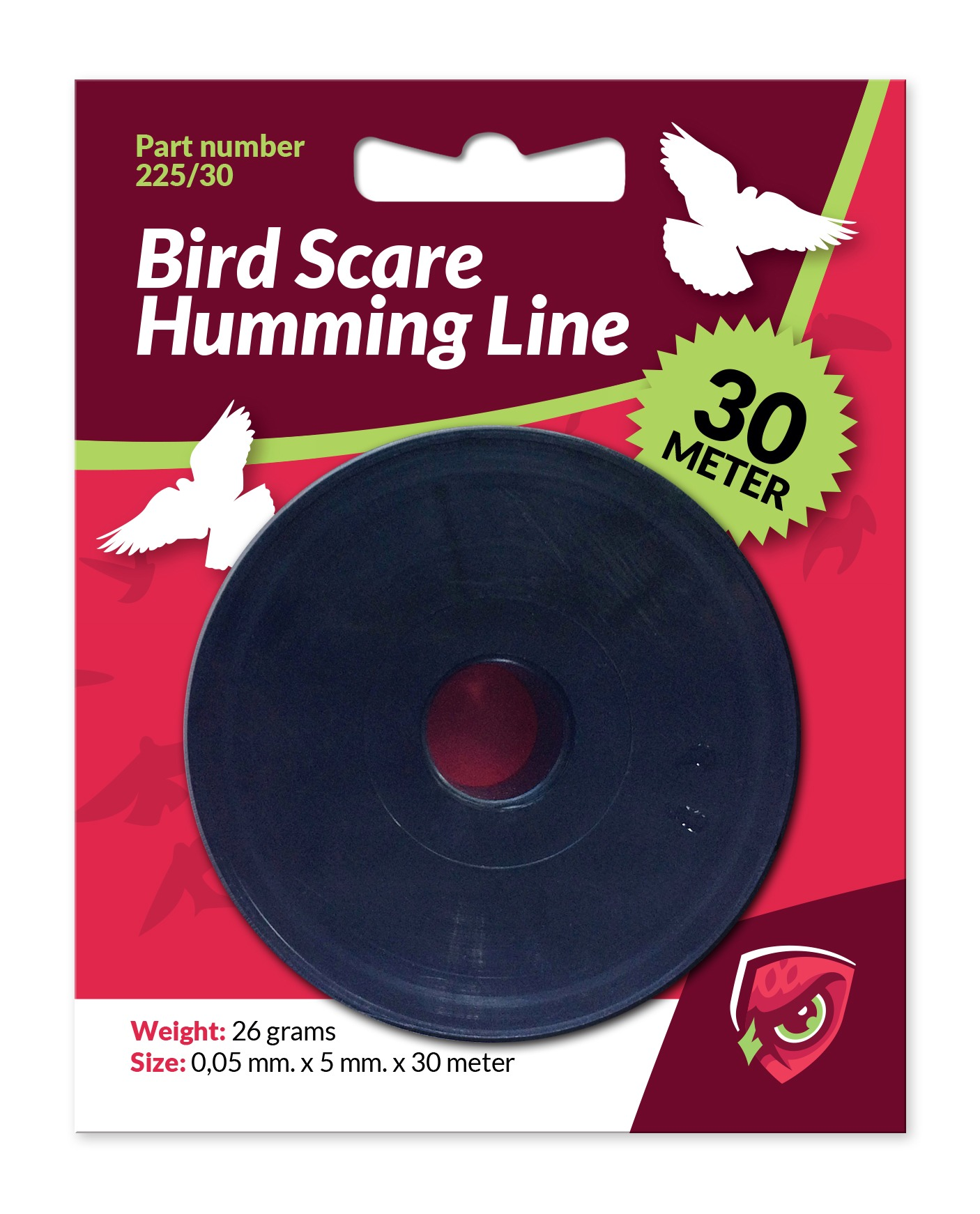bird scare humming line 30m